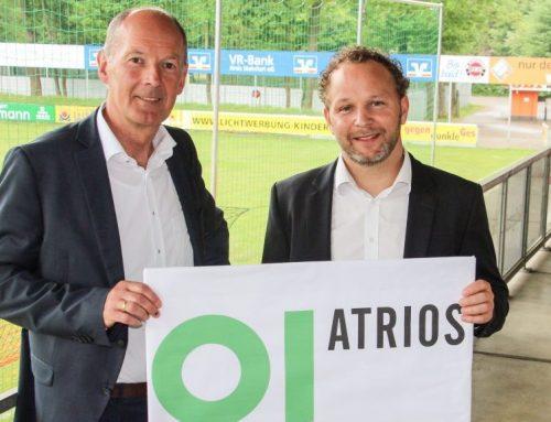 Der IT-Spezialist ATRIOS aus Rheine spendet der Geschäftsstelle des FCE neue PC Ausstattung