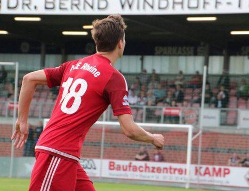 Der FC Eintracht Rheine schlägt den SV Rödinghausen im Westfalenpokal