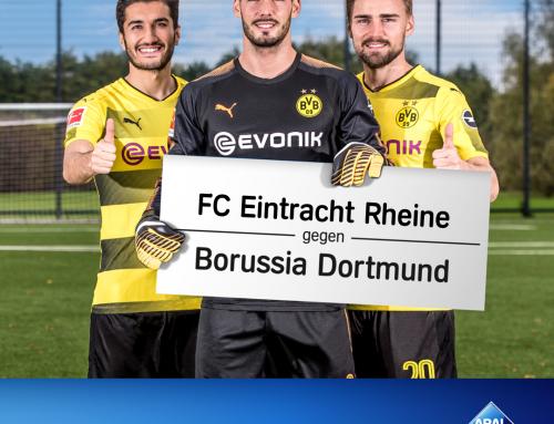 Holt den BVB nach Rheine! Ihr habt es in der Hand!