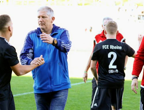 Uwe Laurenz hört im Sommer als Cheftrainer der 1. Mannschaft auf