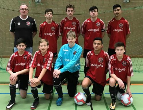 C2 – Jugend Mannschaft auf Platz 1 beim Hallenturnier von ISV Ibbenbüren 08