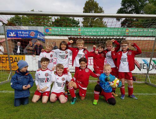 F2-Jugend auch im Heimspiel gegen den FSV Ochtrup siegreich