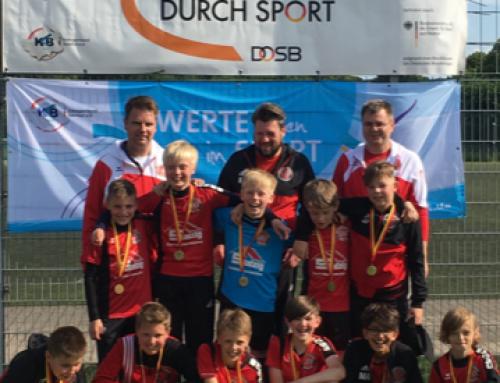 Turniersieg der E 3 beim VR Bank-Cup in Steinfurt