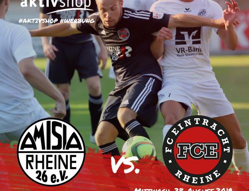Nächste Runde Kreispokal gegen Amisia Rheine