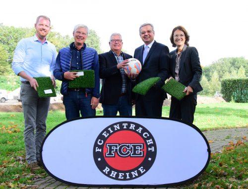 """""""Auf dieses Projekt kann der FCE und die Stadt Rheine wirklich stolz sein"""""""