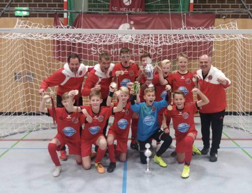 U13 gewinnt Turnier in Melle