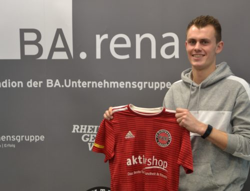 Jonas Burke kommt vom SV Rödinghausen an den Delsen