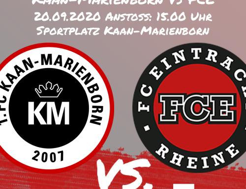 Am Sonntag geht es nach Kaan-Marienborn