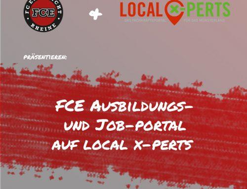 Der FCE startet mit einem eigenen Ausbildungs- und Job-Portal!
