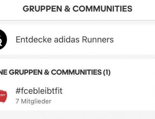 #fcebleibtfit meets Adidas Runtastic