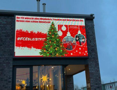 Der FCE wünscht allen Mitgliedern, Unterstützern und Freunden eine schöne Adventszeit