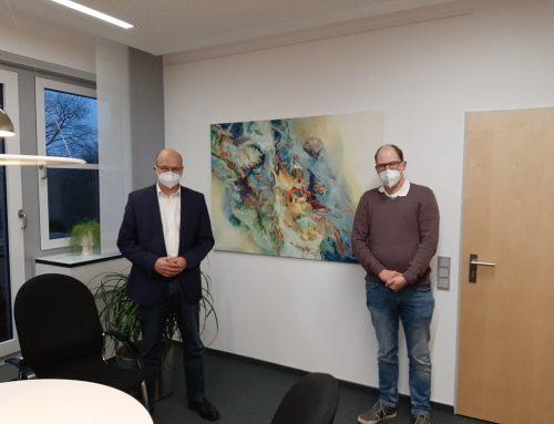 Dr. Sommer sagt FC Eintracht Rheine Besuch zu