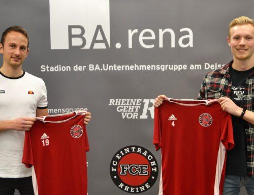 Weitere Neuzugänge beim FC Eintracht Rheine I