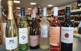 Auswahl der Weine