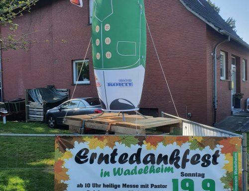Erntedankfest in Waldelheim
